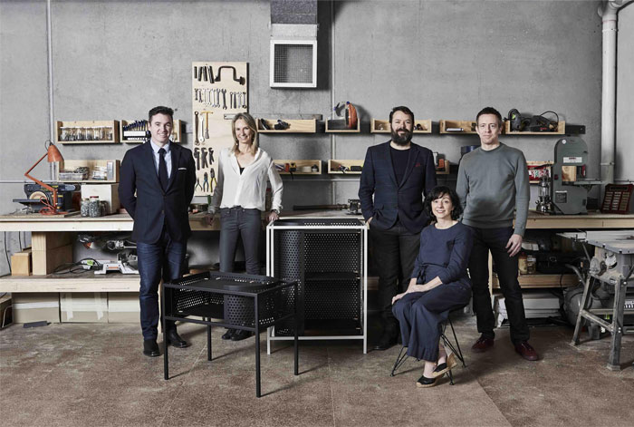 techne furniture collaboration grazia and co 2
