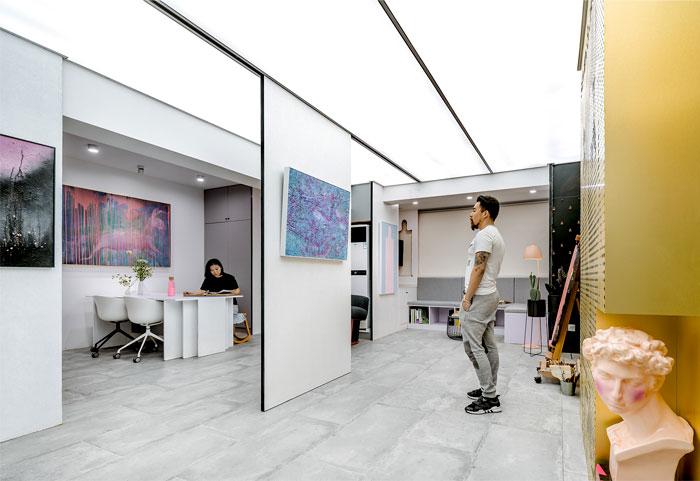 art studio space topos design 1