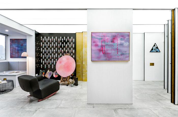 art studio space topos design 2