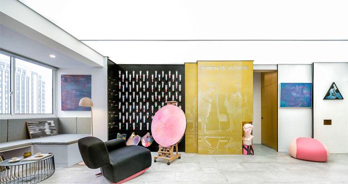 art studio space topos design 3