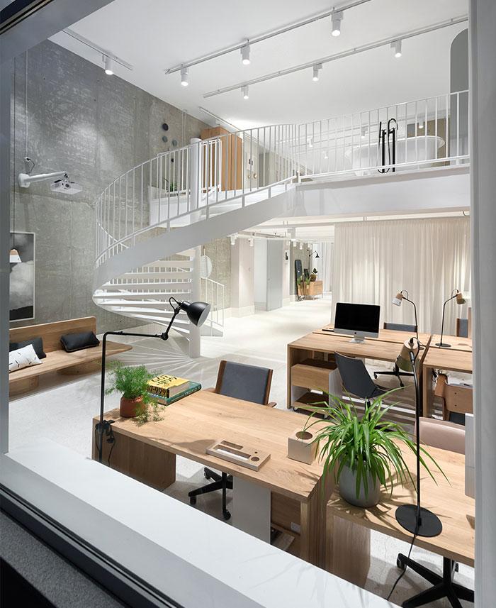 furniture showroom autori architects 11