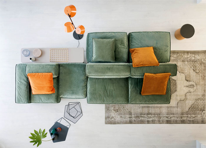 peanut b modular sofa 1
