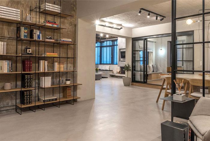 apartment panorama normless architecture studio 8