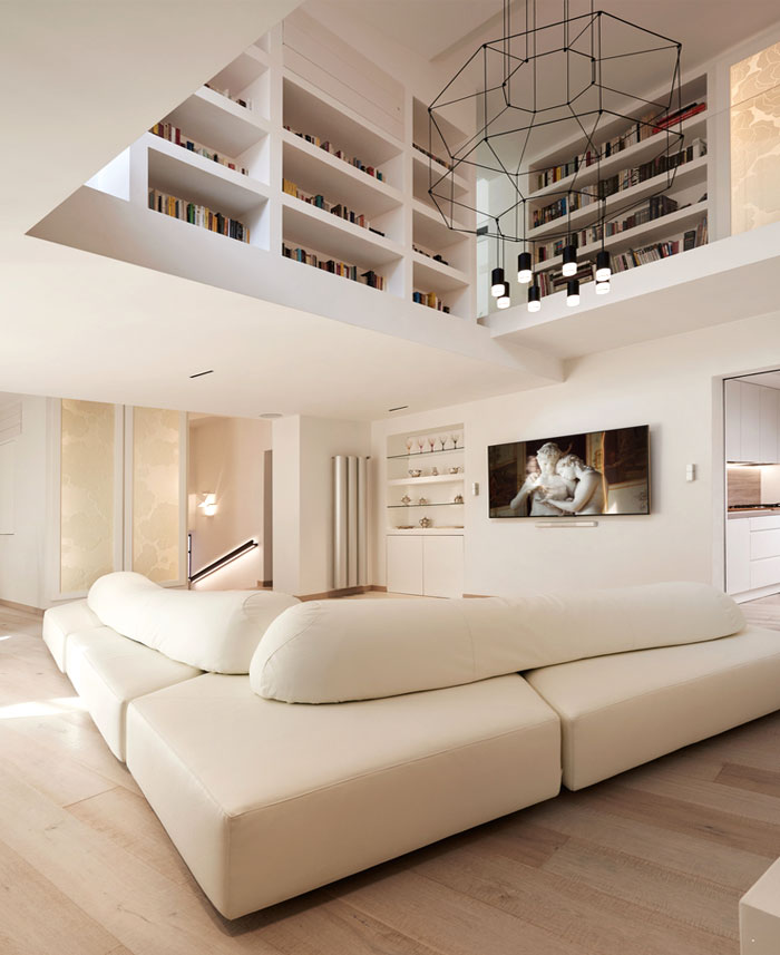 navona penthouse carola vannini architecture 1