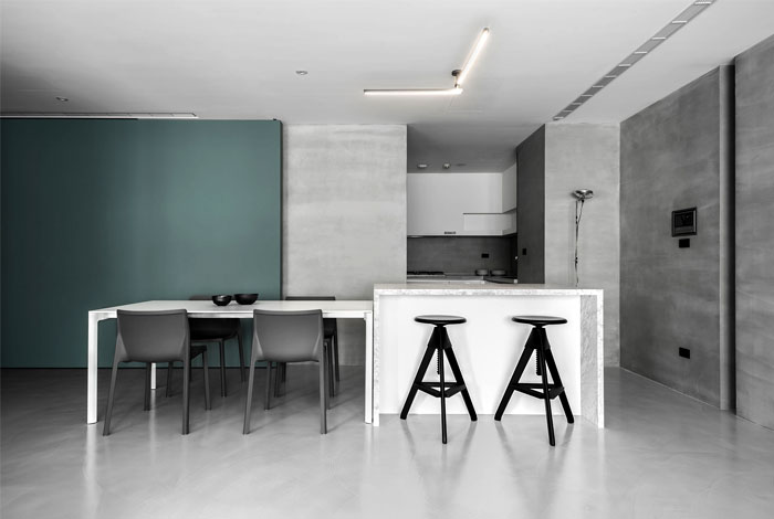 wei yi international design associates apartment 1