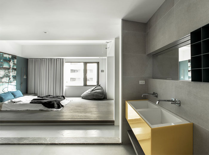 wei yi international design associates apartment 15