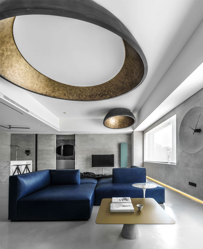 wei yi international design associates apartment 4