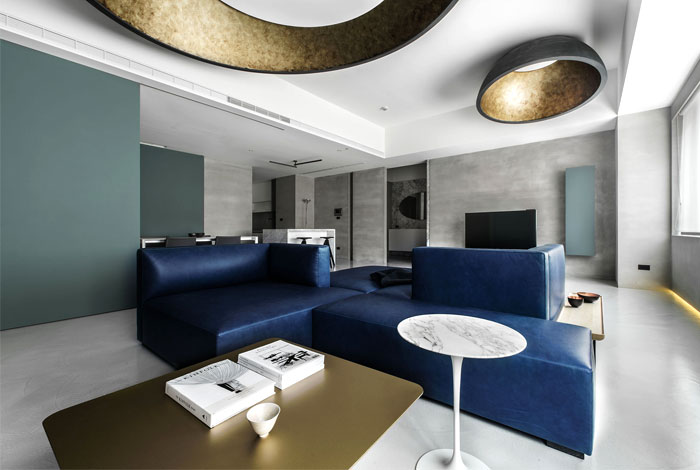 wei yi international design associates apartment 5