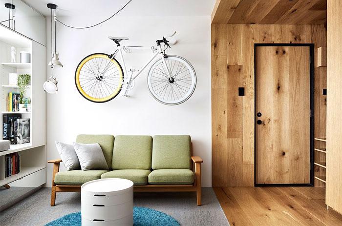 multifunctional design apartment 35 square meter 12