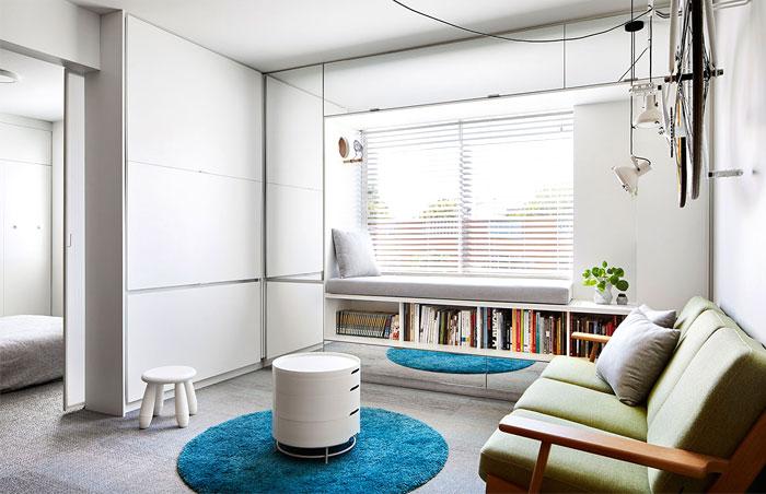 multifunctional design apartment 35 square meter 2
