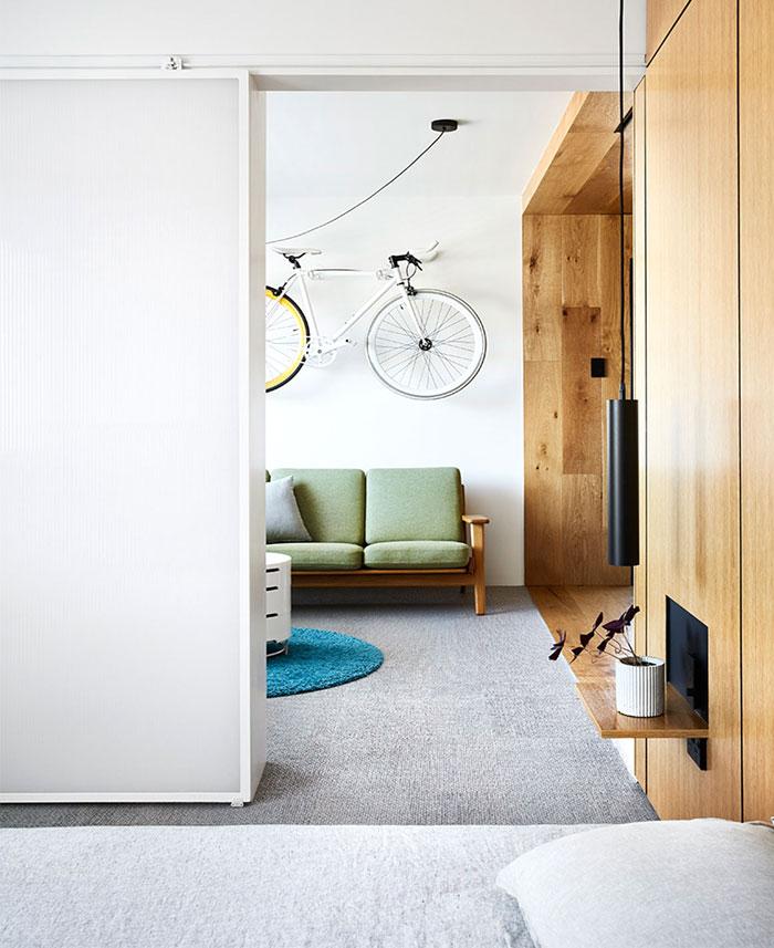 multifunctional design apartment 35 square meter 4