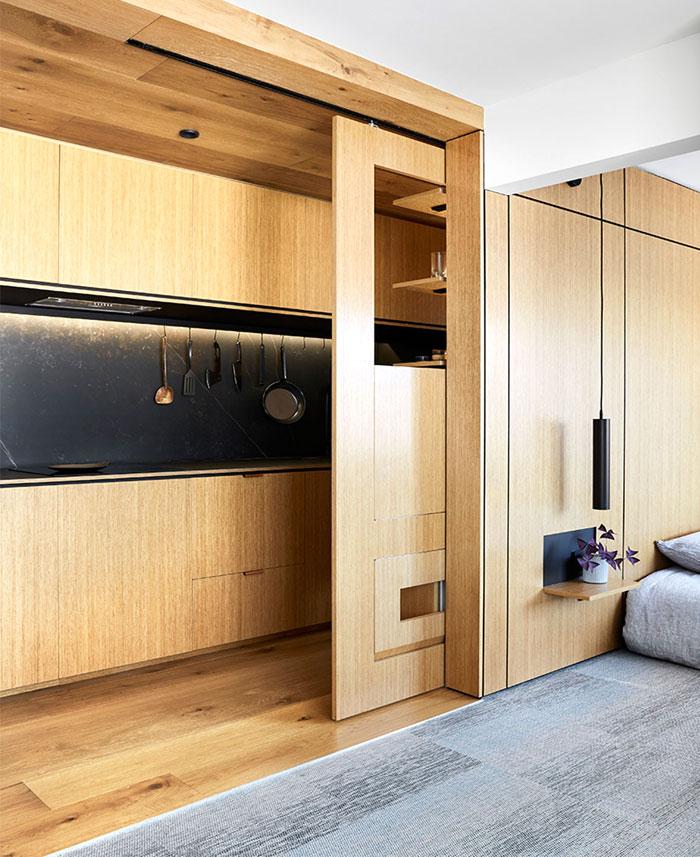 multifunctional design apartment 35 square meter 7