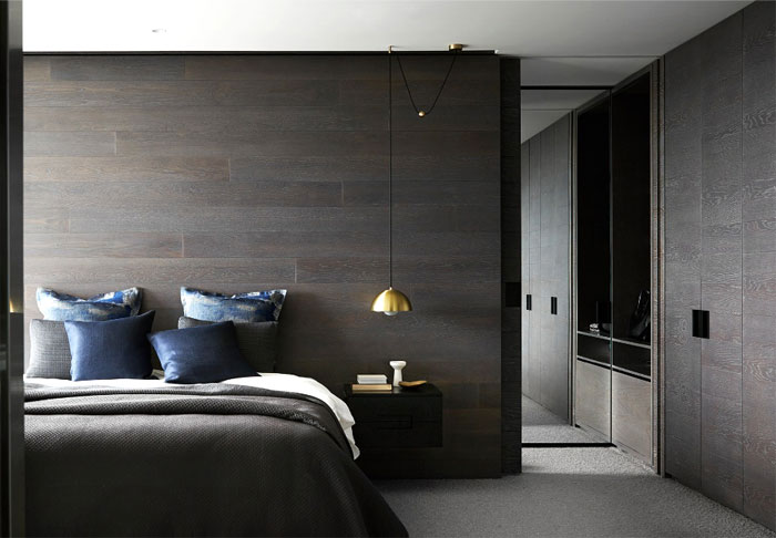 black wall men bedroom 1