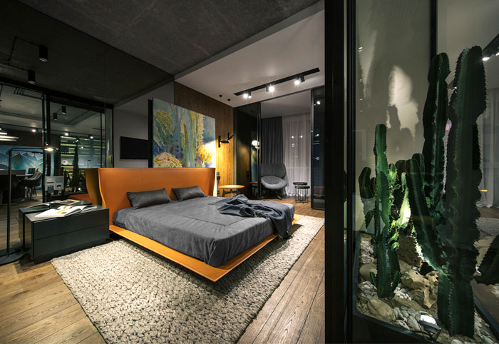 luxury decor modern men bedroom