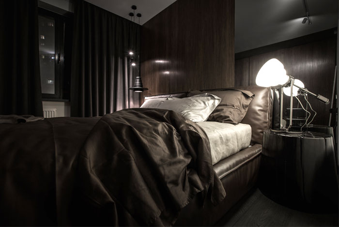 modern men luxury bedroom