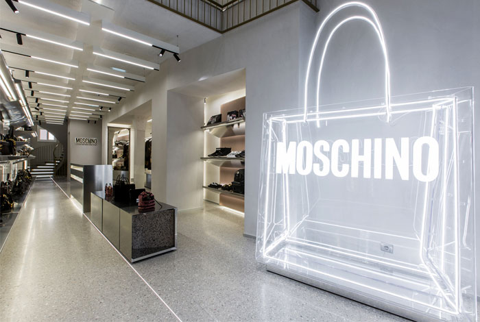 moschino new flagship store offarch 11