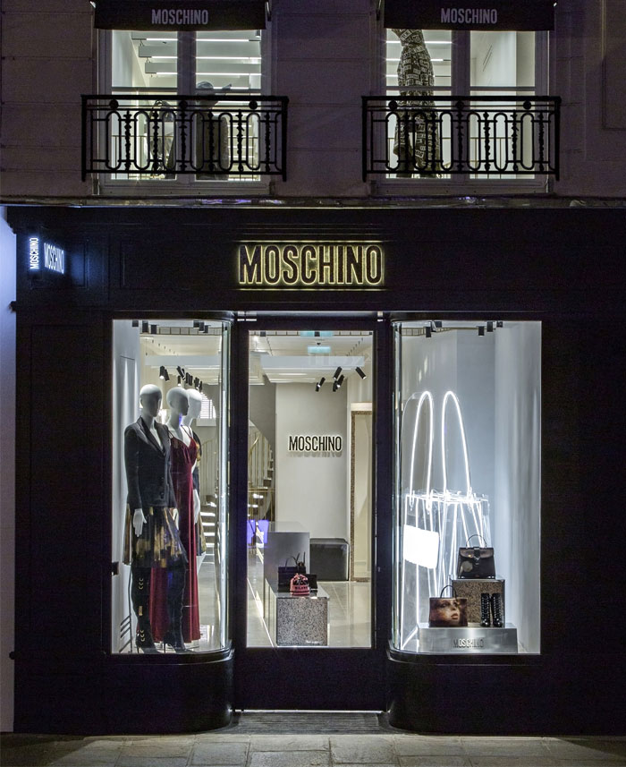 moschino new flagship store offarch 2
