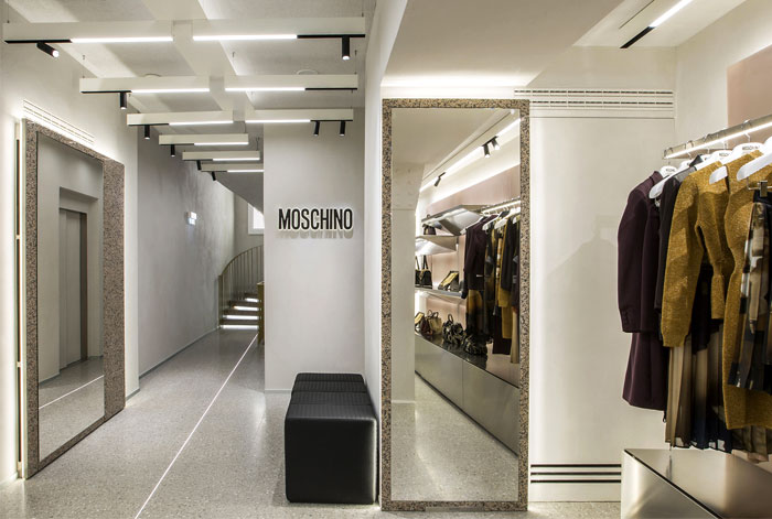 moschino new flagship store offarch 6