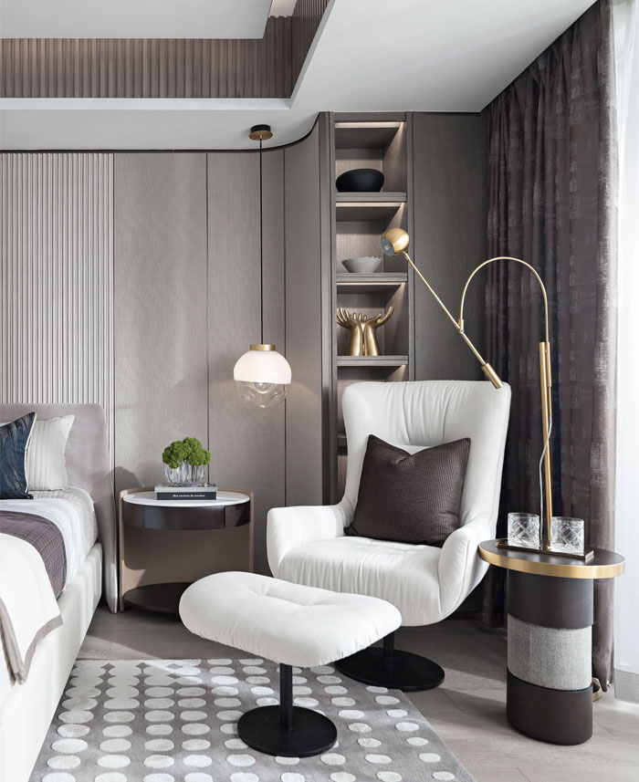 Luxury Apartment In Zhuhai By Cheng Chung Design