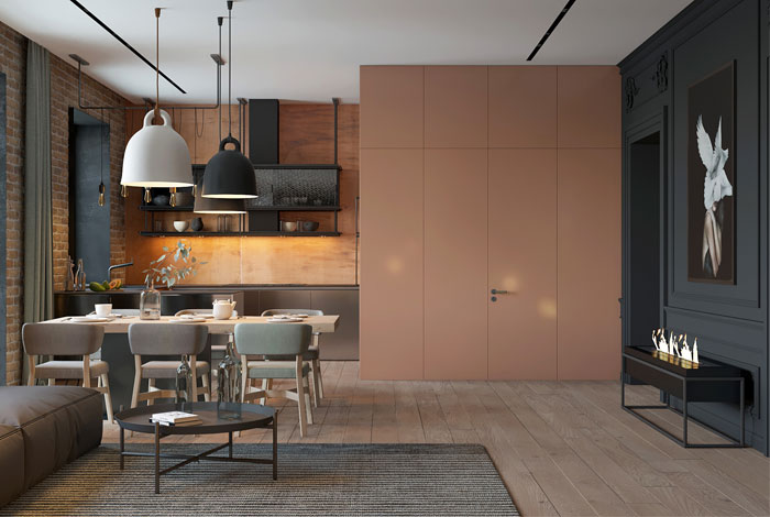 apartment kiev ZOOI studio 1