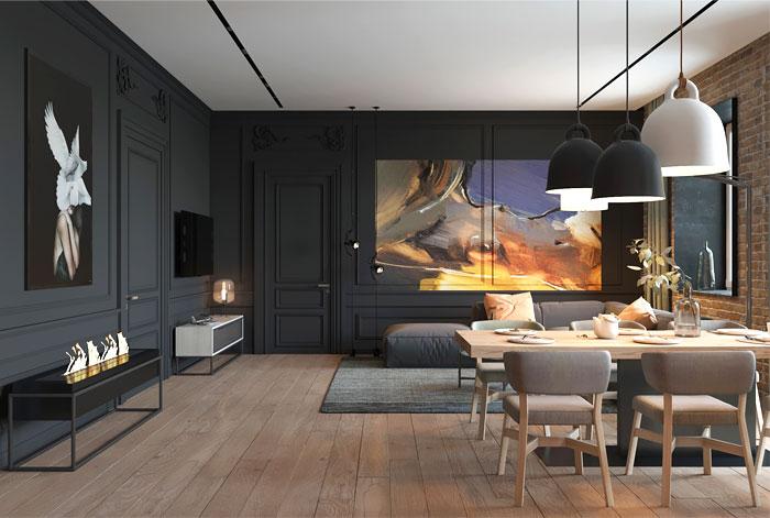 apartment kiev ZOOI studio 19