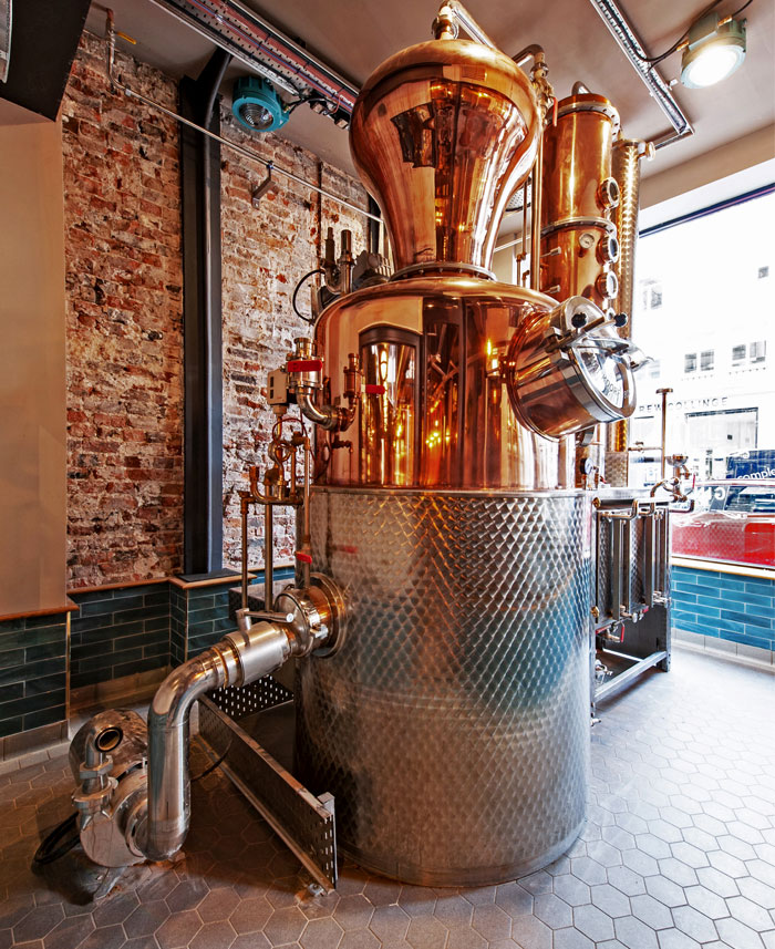 dv8 designs liverpool gin distillery 3