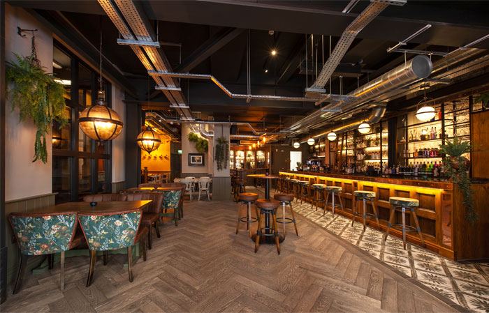 dv8 designs liverpool gin distillery 5