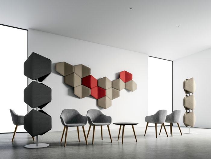 pantone living coral office furniture DVO