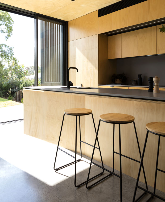 yellow brick house extension christopher polly architect 12