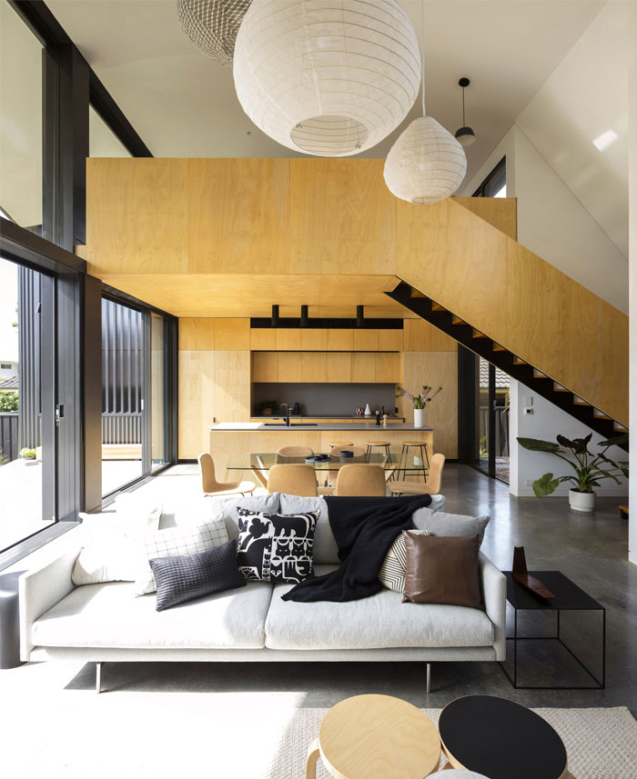 yellow brick house extension christopher polly architect 15