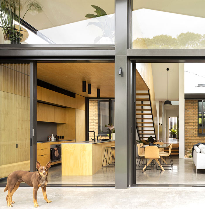 yellow brick house extension christopher polly architect 17