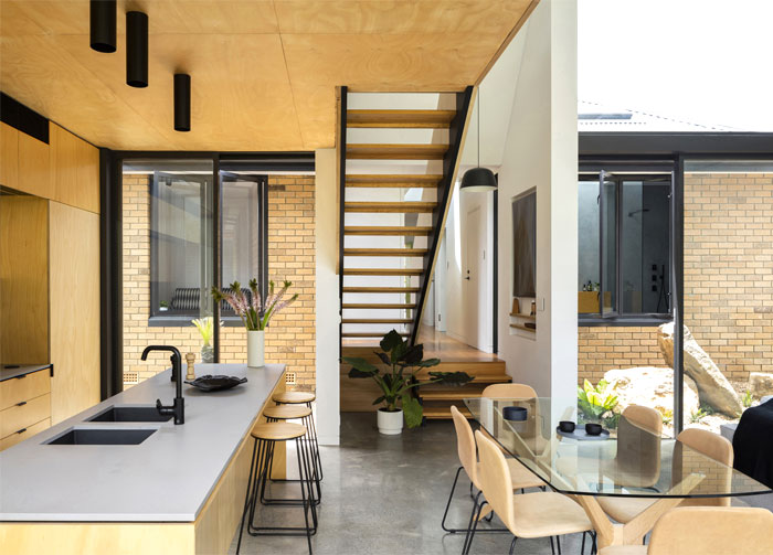 yellow brick house extension christopher polly architect 8