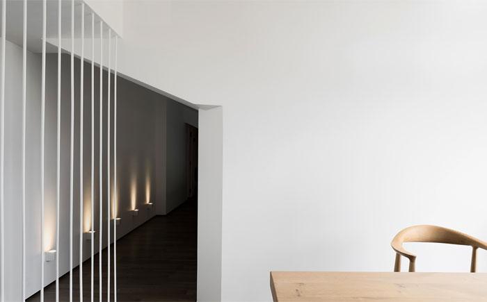 ad architecture minimalist white residence china 13
