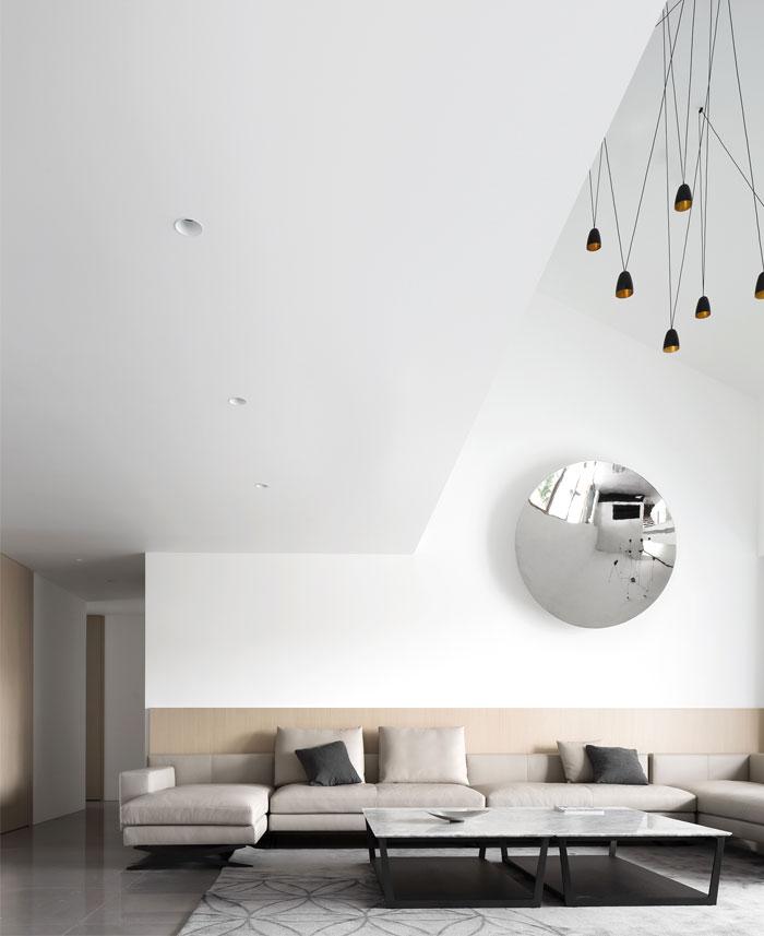 ad architecture minimalist white residence china 15