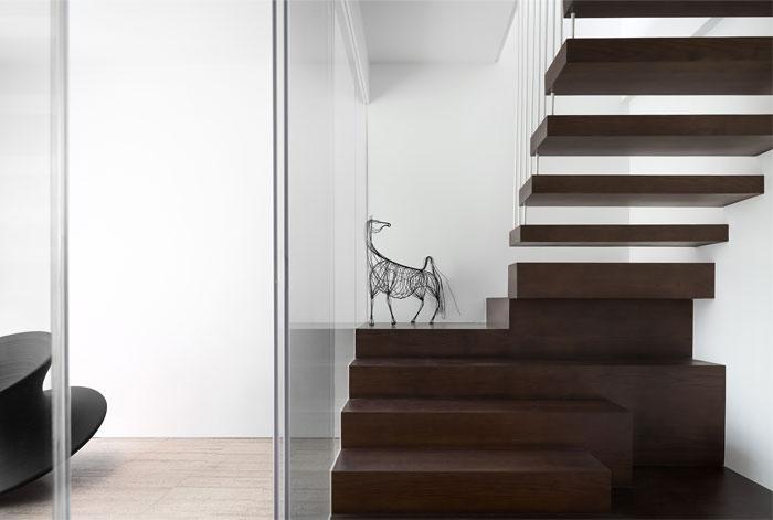 ad architecture minimalist white residence china 17