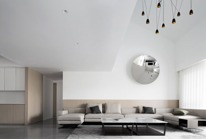 ad architecture minimalist white residence china 19