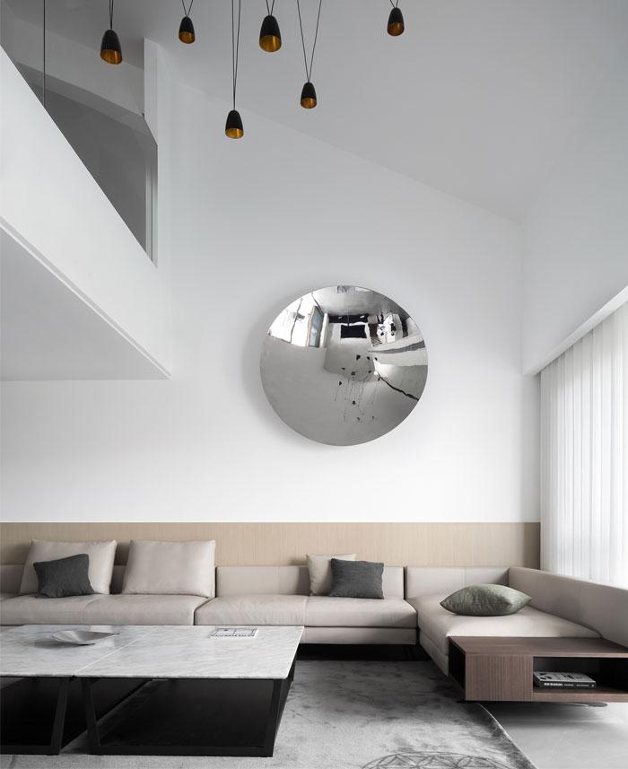 ad architecture minimalist white residence china 4