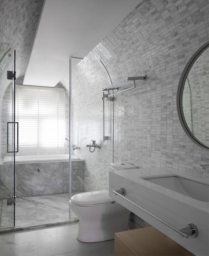ad architecture minimalist white residence china 7