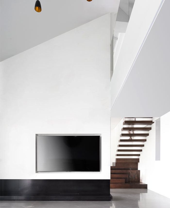 ad architecture minimalist white residence china 8