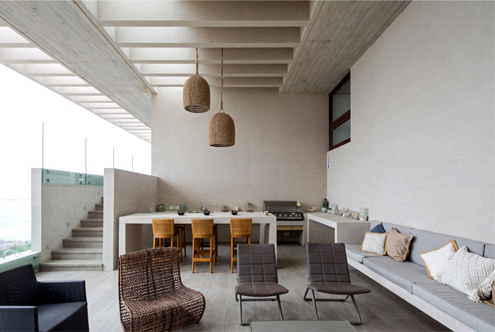 exposed concrete house chile 3