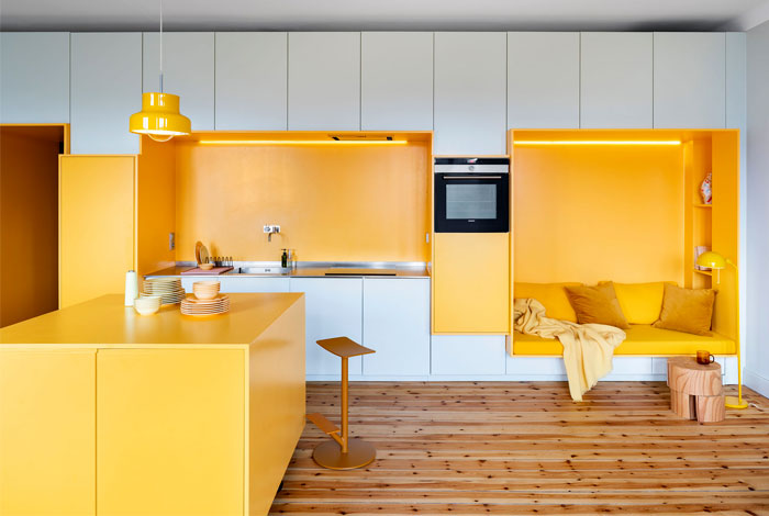 lookofsky architecture stockholm apartment 2