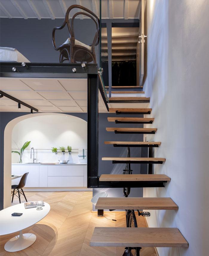 studio pierattelli architetture 50 sq m flat florence 11