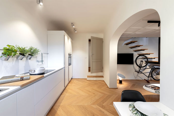 studio pierattelli architetture 50 sq m flat florence 5