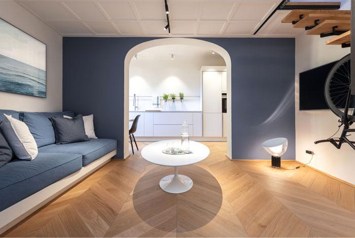 studio pierattelli architetture 50 sq m flat florence 7