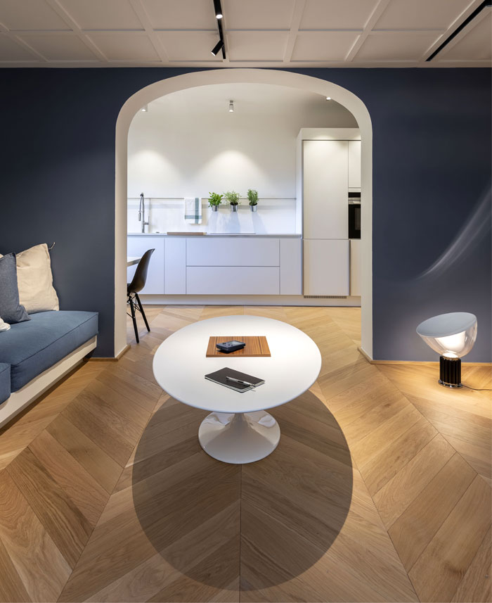 studio pierattelli architetture 50 sq m flat florence 8
