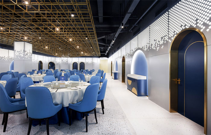 Topos Design Clans seafood restaurant yongqiang 17