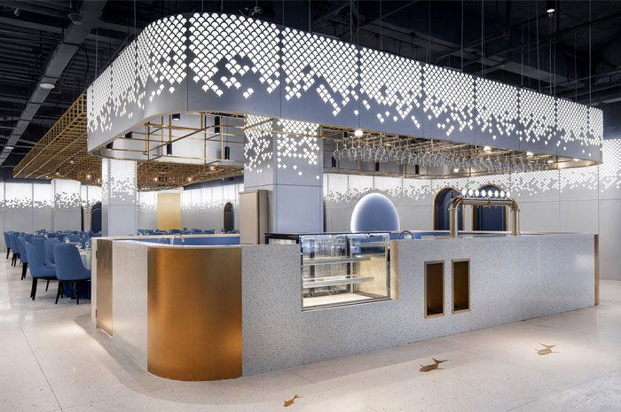 Topos Design Clans seafood restaurant yongqiang 4