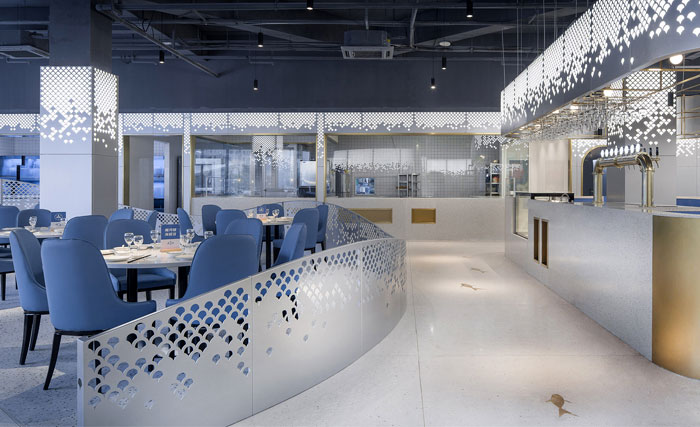 Topos Design Clans seafood restaurant yongqiang 6