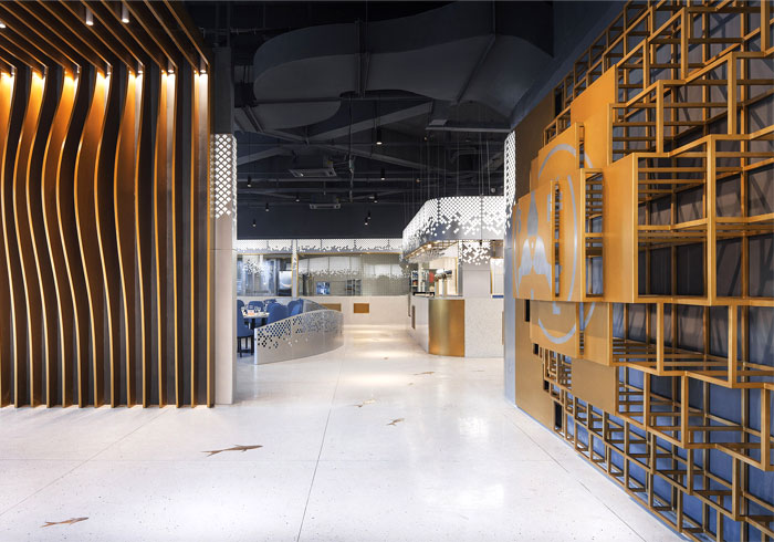 Topos Design Clans seafood restaurant yongqiang 8