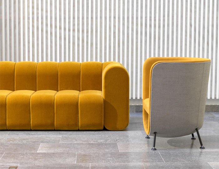 organic retro stylistic living room interiorzine